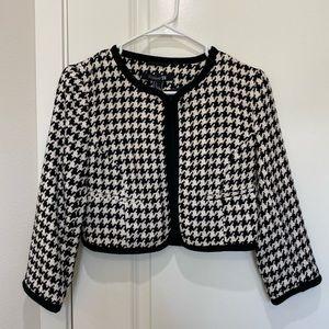 Chic Crop Tweed Jacket